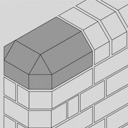 Angle bricks generally serve a functional purpose where it is necessary to carry a building element through an angle other than 90°. Cant bricks are typically used for feature brickwork where crisp, clean lines are required e.g. corner details, window/door re...