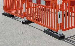 OxBlock Heavy Fence Post Base image
