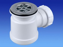 Shower Trap with removable dip tube....