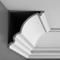Cornice mouldings PUROTOUCH®   200 x 27.1 x 26.6 cm A classical XL profile to fit grand rooms, and entrance lobbies. A statement coving. These substantial sizes are ideal for larger rooms....