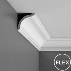 A timeless model to suit all decoration styles. Bigger brother to the CX100. A best-seller which has been very successful for a number of years. The cornices of the Axxent collection are affordable yet elegant and durable. When incorporating ornaments, keep in...