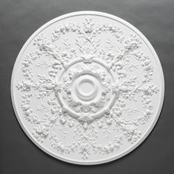 Our largest ceiling rose. A statement ornament ideal for larger spaces. Can be used to hide cables....
