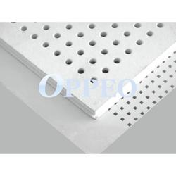 Tegular edge perforated gypsum board image