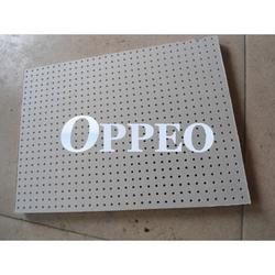3mm round hole perforated gypsum board image