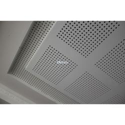 Seamless perforated gypsum ceiling image