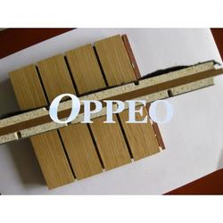 MgO MDF composite acoustic panel used MgO board and MDF as the core material to replace MDF to get better fire performance and envrionmetal freindly class....