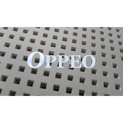 Oppeo perforated gypsum ceiling, which has been launched into market since 2006 and exported to oversea market since 2009. Till now, we have compete with top main brand such Larfage Exsound, Boral, Gyptone, USG and Danoline. With good quality and competitive p...