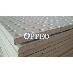 Perforated gypsum board, which adopts special plasterboard with fiberglass reinforced, and then punched with different kind of perforation to get visual and sound absorption effect. Our panels will be good material to substitute of traditional Danoline, Knauf,...