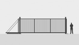 Manual Sliding Security Gates Up To 8.0m image