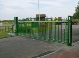 Automatic Sliding Security Gates Up To 8.0m image