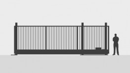 Automatic Sliding Security Gates Up To 9.5m image