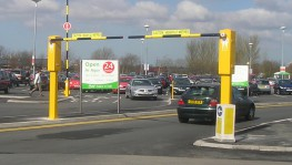 Height Restriction Car Park Barriers prevent access to un-authorised areas, such as staff car parks, using height as a barrier.As with all barriers manufactured by Newgate, the Height Restriction Car Park Barrier is designed and built to be a robust, sturdy ba...