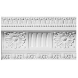 Chesterfield Patterned Plaster Cornice image
