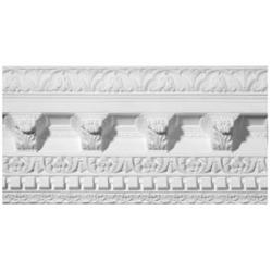 Grand Victorian Patterned Plaster Cornice image