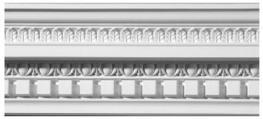 Eaton Dentil Plaster Cornice image