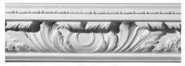 Large Acanthus Leaf Plaster CorniceC0029 image