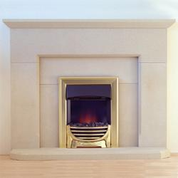 Stancliffe Stone offer their customers choice – British sandstones, rich in colour, character and heritage – Choose Stoke Hall Derbyshire sandstone for your natural stone fire surround.  The simple horizontal and vertical lines of our Beeley natural stone fire surround will provide your home with a very sleek classic focal point. Our Beeley stone fire surrounds are offered in two sizes - Standard or Grand.  Manufactured from fine to medium grained buff coloured Derbyshire sandstone, the Beeley stone fire surround will bring warmth to any room on those long winter nights.  Variation of shade and marking is a feature of Natural Sandstone.  N.B. Fire not included.  You can order samples online of Stoke Hall Buff Sandstone on our Natural Stone Samples page. Why not view our other natural stone products in the Marshalls Stancliffe Stones Cream Fire Surrounds range.