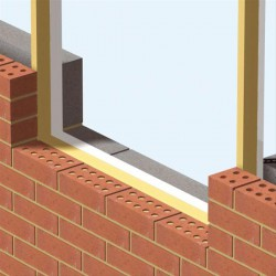 Manthorpes' profiled thermal cavity closer suits standard vertical cavity and sill details. It provides an economical solution to cold bridging problems and is available in a range of sizes to suit varying cavity widths and can easily be installed with no spec...