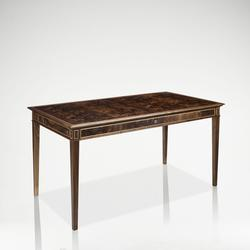 LINLEY CLASSIC WRITING DESK - SATINWOOD image