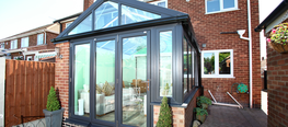 Sharing many characteristics with the Edwardian, gable end conservatories feature a traditional apex pitched roof combined with a striking front elevation, being fully glazed right up to the apex.  Square or rectangular in style, like the Edwardian, gable end ...