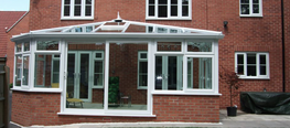 The Edwardian conservatory, also known as the Georgian, is similar in style to the Victorian – the main difference being that it's square or rectangular in footprint.  This style embodies airiness and light, offering more subtle lines than the elaborate Vi...