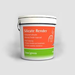 Silicate Mineral Finish Render image