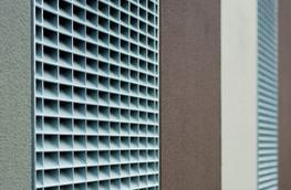 Lichtgitter offer a louvred grating which is a pressed in grating with the cross bar angled at 45 degrees.  This type of grating is used where ventilation or privacy screens are required....