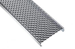 Perforated metal planks, type BN-OP, correspond to type BN-O in terms of the punching pattern, but have twice the number of holes. The drain holes have a diameter of 7 mm and thereby increase the drainage performance and light and air permeability....