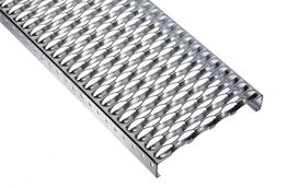 Due to their extremely serrated surface profiling, perforated metal planks type BZ (tooth) offer a high degree of slip resistance. BZ gratings are therefore ideal for working areas where oil and grease are used....