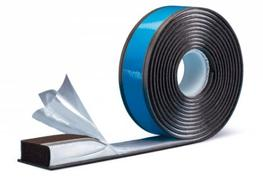 For the first time, this pre-compressed multi-function joint sealing tape makes the convenient and controlled pre-fitting of a 3-level seal possible in a workshop environment. This is guaranteed by a sturdy tear-off cover which ensures that the tape itself rem...
