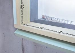 """The IN FRONT OF WALL INSTALLATION SYSTEM ISO-TOP WINFRAMER """"TYPE 1"""" makes it exceptionally easy to position and fit windows on the insulation plane. It comprises a load-bearing system angle made of PURATHERM and a highly thermally insulating core which can..."""
