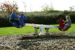Horse Seesaw image