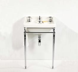 The Syre Vanity Basin On Stand - Drummonds