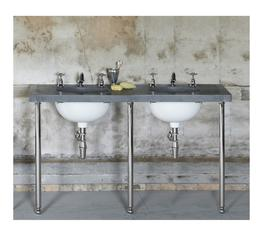 The Double Calder Vanity Basin Suite - Drummonds