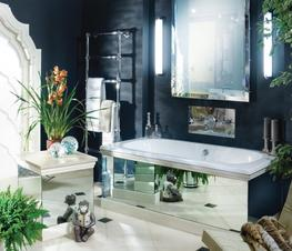 The Baby Lomond Overmounted Cast Iron Bath Tub By Drummonds