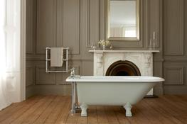 The Clyde Single Ended Cast Iron Bath Tub image