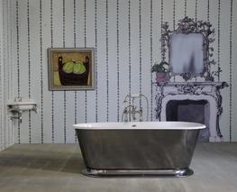 The Humber Cast Iron Skirted Bath Tub image