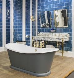 Drummonds_the Wye Large Bateau Cast Iron Bath Tub_photo_5_wye