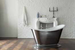 The Morar Small Slipper Cast Iron Bath Tub By Drummonds