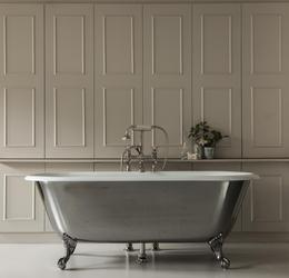 The Swale Cast Iron Bath Tub With Ball & Claw Feet image