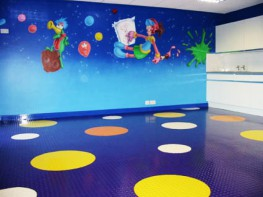 Micro-reliefs Commercial rubber flooring image