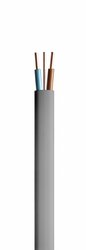 Draka 6242Y is a flat PVC sheathed low voltage wiring cable typically used for small power and lighting applications. Individual cores are PVC insulated with two and three core options available, both include an additional un-insulated circuit protective condu...