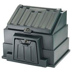 Harlequin bunker storage products are available in 3 varieties - coal bunkers, salt/grit bunkers and garage / garden tidy bunkers. There are a number of sizes available in each range and colour options are dependent on product type.   This Harlequin coal bunke...