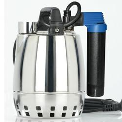 Calpeda GXR Single-impeller (open impeller) Submersible Drainage Pumps in chrome-nickel stainless steel, with vertical delivery port. Motor cooled by the pumped water passing between the motor jacket and the external jacket. Double shaft seal with oil chamber....