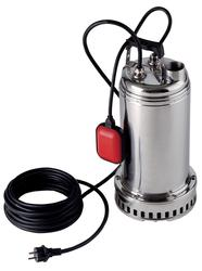 DAB Drenag 1000 Submersible Drainage Pump for murky water Pump body, impeller, motor flange, filter and filter cover, motor casing, outer casing with handle, cable compartment cover in AISI 304 Stainless Steel Driving motor in AISI 316 Stainless Steel. Handle ...