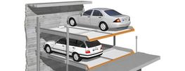 The MULTIVARIO integrates 5 parking systemsinto one unit, meaning that instead of worrying about 5 variants, one MULTIVARIO does it all. All the benefits of previous versions such as economy of space and parking comfort feature once again in the Multivario.  W...