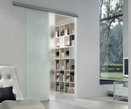 Frosted Glass Door Design image