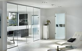 Aero Glass Door Design image