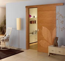 Oak Veneer Doors image