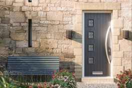 GRP Faced Solid Timber Core Door-Sets image